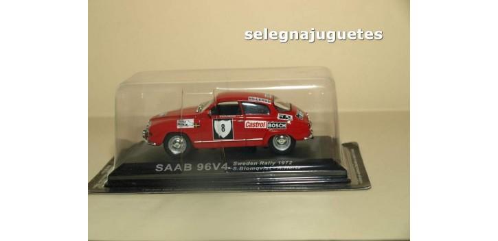 coche miniatura Saab 96v4 Blomqvist Ixo 1/43 coche miniatura