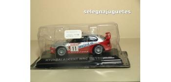 Hyundai Accent Wrc Acropolis 2003 F. Loix - S. Smeetsi escala 1/43 Altaya Coche metal miniatura