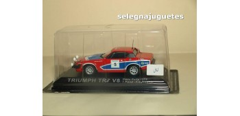 Triumph TR7 V8 1978 Rally Manx T. Pond escala 1/43 Altaya Coche metal miniatura