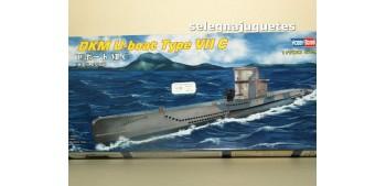 DkM U-Boat Type VII C submarino escala 1/700
