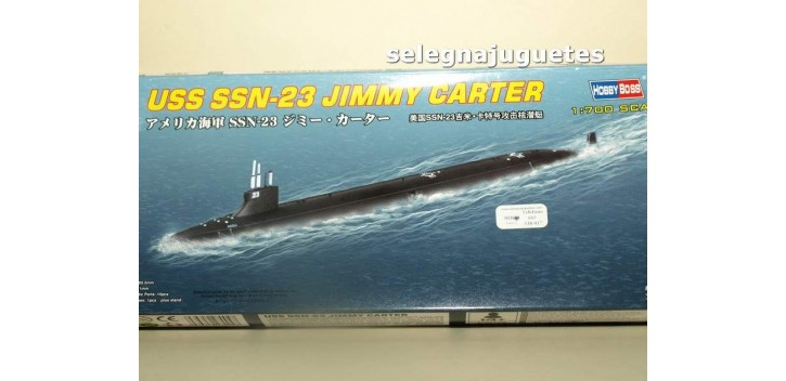 Uss SSN-23 Jimmy Carter C submarino escala 1/700