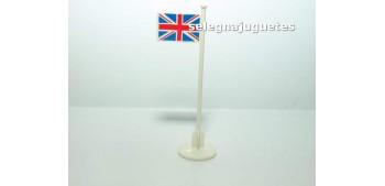 Banderola Reino Unido escala 1/43 cararama (Artículo sin caja)