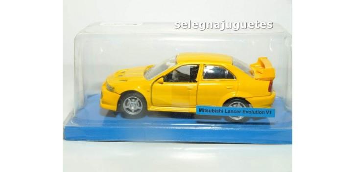 Mitsubishi Lancer Evolution V1 (blister) escala 1/43 Cararama coche miniatura metal
