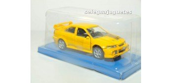 Mitsubishi Lancer Evolution V1 (blister) escala 1/43 Cararama