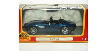 lead figure Bmw Z8 azul escala 1:43 Guisval