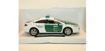 miniature car Peugeot 407 coupe 2005 Guardia Civil Trafico