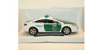 Peugeot 407 coupe 2005 Guardia Civil Trafico escala 1/32 New Ray coche metal Coches a escala 1/32