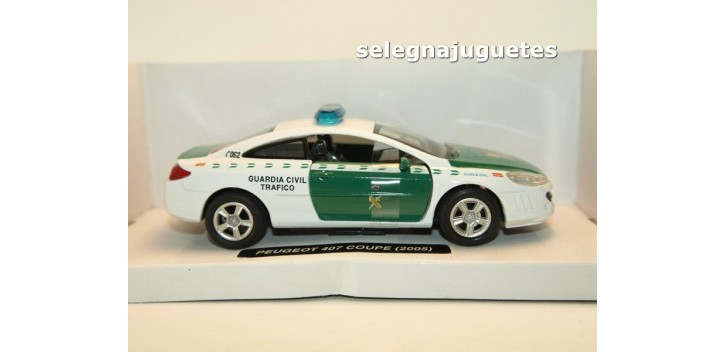 Peugeot 407 coupe 2005 Guardia Civil Trafico escala 1/32 New