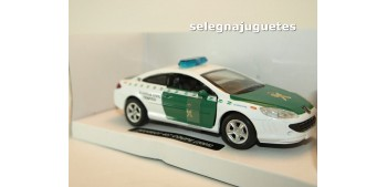 Peugeot 407 coupe 2005 Guardia Civil Trafico escala 1/32 New Ray coche metal