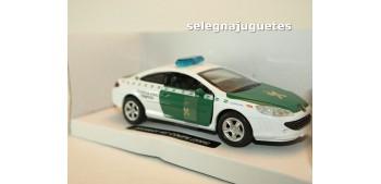 Peugeot 407 coupe 2005 Guardia Civil Trafico escala 1/32 New Ray coche metal Coches a escala 1/32