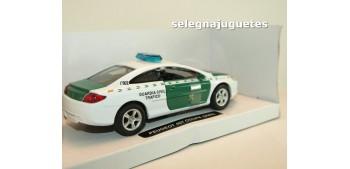 coche miniatura Peugeot 407 coupe 2005 Guardia Civil Trafico