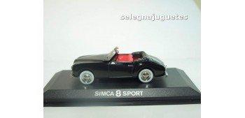 SIMCA 8 SPORT NEGRO - 1/43 NOREV