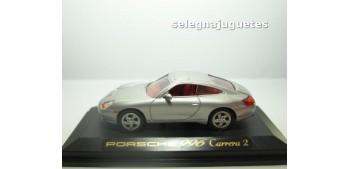 maquetas de coches PORSCHE 996 PLATA - CARRERA 2 - CAJA - 1/43