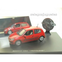 <p>MARCA: <strong>UNIVERSAL HOBBIES</strong></p> <p>ESCALA - SCALE - ECHELLE - MABSTAB: <strong>1:43 - 1/43</strong></p> <p>MODELO: Renault Clio Privilege</p>