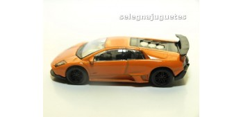 miniature car Lamborghini Murcielago Lp 670-4 SV 1/60 Rmz coche