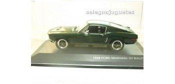Ford mustang Gt Bullit 1968 escala 1/43 Yat ming coche miniatura metal Yat Ming