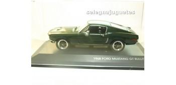 Ford mustang Gt Bullit 1968 escala 1/43 Yat ming coche miniatura metal