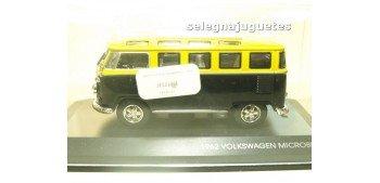 maquetas de coches Volkswagen microbus 1962 vitrina escala 1/43