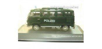 maquetas de coches Volkswagen microbus 1962 Polizei (Policia)