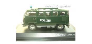 VOLKSWAGEN MICROBUS 1962 POLIZEI (POLICIA) 1/43 YAT MING