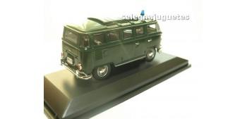 Volkswagen microbus 1962 Polizei (Policia) escala 1/43 Yat ming coche miniatura