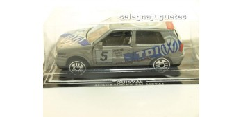 lead figure Volkswagen Golf scale 1:58 Guisval miniature car