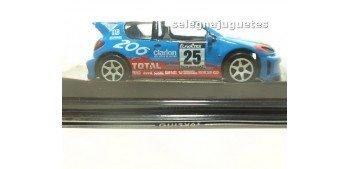 Peugeot 206 wrc Rally Montecarlo escala 1/43 Guisval coche metal miniatura Guisval