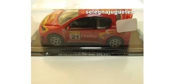 miniature car Peugeot 206 Clarion scale 1:43 Guisval miniature