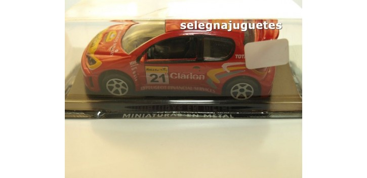 coche miniatura Peugeot 206 Clarion escala 1/43 Guisval coche