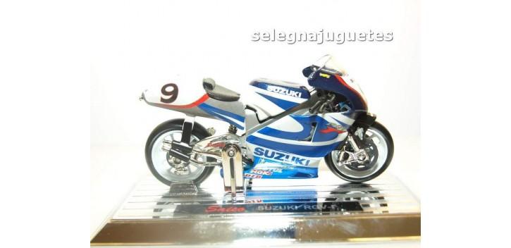 moto miniatura Suzuki Rgv-r Nobuatsu Aoki escala 1/18 Saico