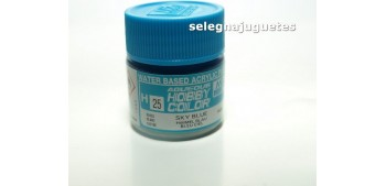 Azul cielo - Sky Blue - Pintura color - Acrilica - Bote 10 ml