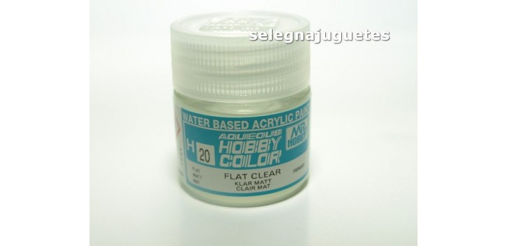 Barniz Mate - Flat clear - Pintura color - Acrilica - Bote 10 ml