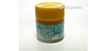 Amarillo RLM04 - Yellow - Pintura color - Acrilica - Bote 10 ml