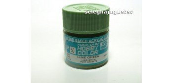 Verde Lima - Lime Green - Pintura color - Acrilica - Bote 10 ml