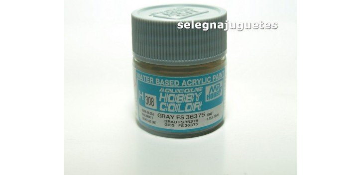 Gris - Gray Fs 36375 - Pintura color - Acrilica - Bote 10 ml