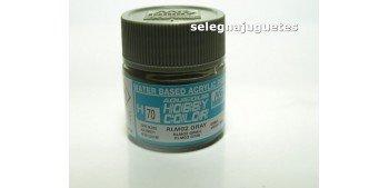 Gris - Grey - Pintura color - Acrilica - Bote 10 ml