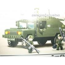 <p><strong>Modelo: Sluban®Sluban B9900 Suv Army I</strong></p> <p><strong>Piezas: 191</strong></p>