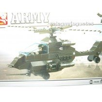 <p><strong>Modelo: Sluban®Sluban B6200 Helicóptero</strong></p> <p><strong>Piezas: 158</strong></p>