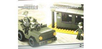 Sluban B6100 Jeep más caseta juego de piezas
