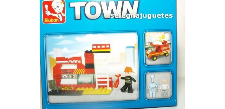 Sluban B0173 Coche bomberos juego de piezas