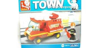 coche miniatura Sluban B0173 Coche bomberos juego de piezas