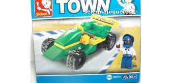 miniature car Sluban B0172 Coche carreras juego de piezas