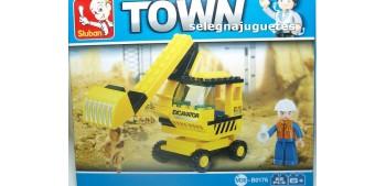 Sluban B0176 Excavadora juego de piezas