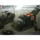 <p><strong>Modelo: Sluban®B6000 Ambulancia y jeep</strong></p> <p><strong>Piezas:229</strong></p>