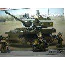 <p><strong>Modelo: Sluban®BB9800 Leopard 2A6 Main Battle Tanque</strong></p> <p><strong>Piezas:258</strong></p>