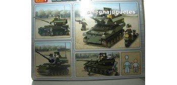 Sluban B9800 Leopard 2A6 Main Battle Tanque