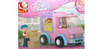 Sluban B0520 Furgoneta de reparto - Girls Dream