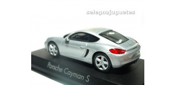 Porsche Cayman S 2013 Silver escala 1/43 Norev