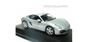 coche miniatura Porsche Cayman S 2013 Silver escala 1/43 Norev