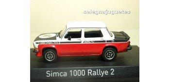 Simca 1000 Rallye 2 SRT 1977 Tacoma White & Red escala 1/43 Norev